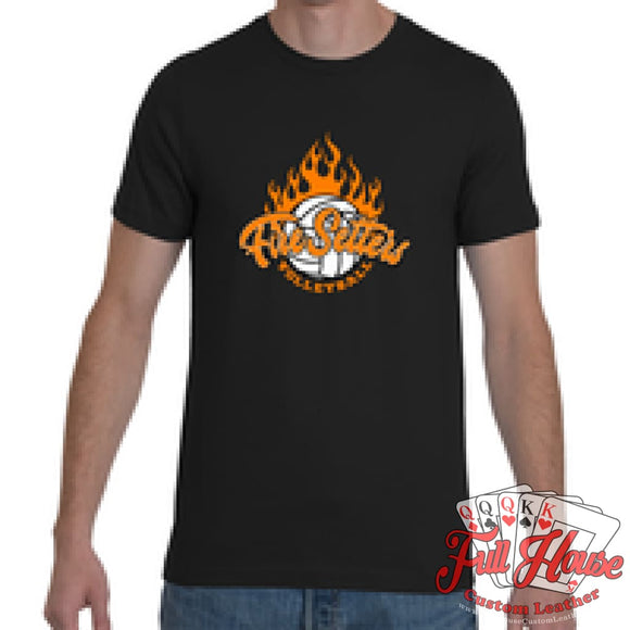 Fire Setters Adult Tee - Full House Custom Leather