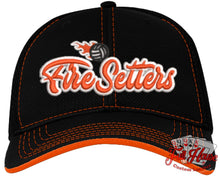 Load image into Gallery viewer, Fire Setters Baseball Cap - Full House Custom Leather