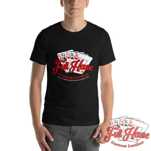 Full House Logo Shop T-Shirt - Full House Custom Leather