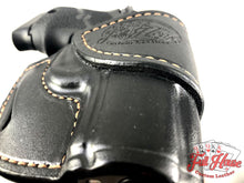 Load image into Gallery viewer, Sig Sauer P938 9mm - Black Leather Avenger Holster (OWB) - Full House Custom Leather