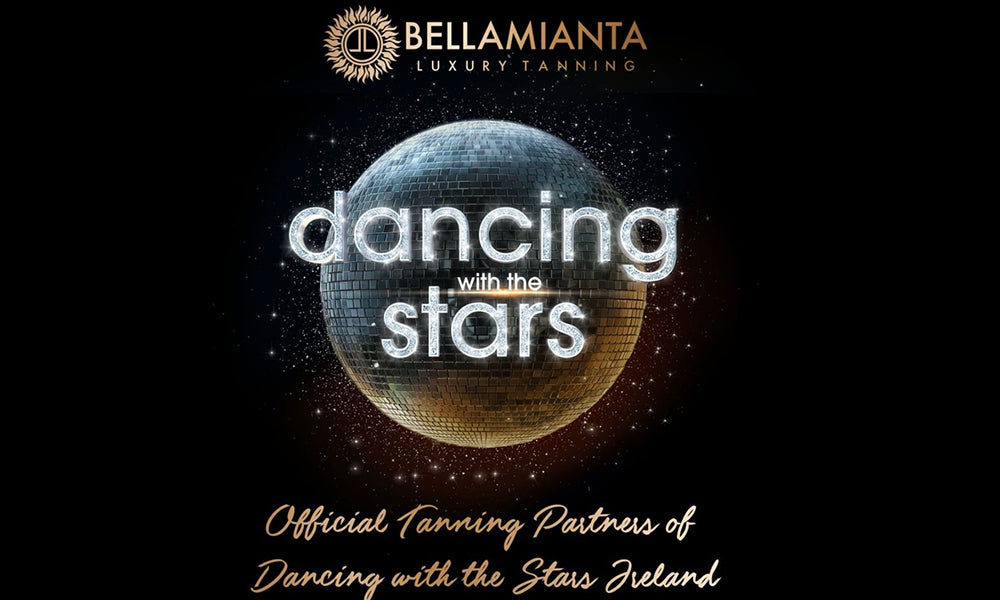Official Tanning Partners of Dancing with the Stars Ireland 2020