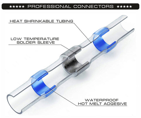 Waterproof Solder Wire Connectors design