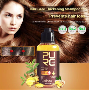 Herbal Ginger Hair Regrowth Shampoo
