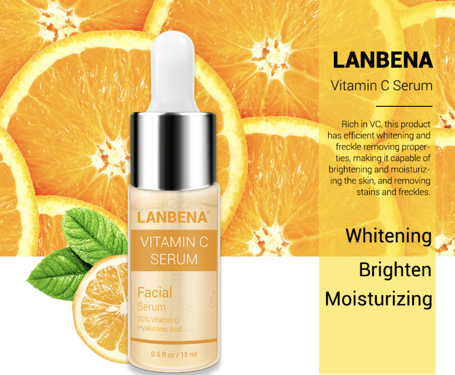 Lanbena Vitamin C Facial Serum