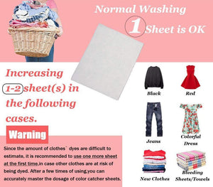 Dyeing Proof Laundry Aroma Sheet