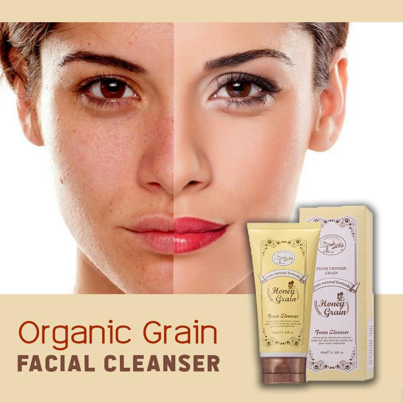Organic Grain Facial Cleanser