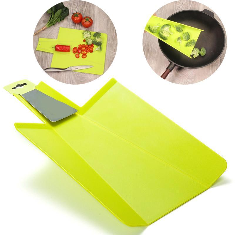 Spill Proof Foldable Cutting Board