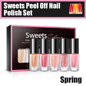 Sweets Peel Off Nail Polish Set