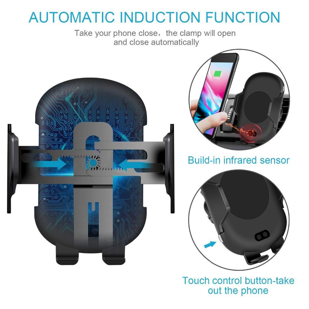 Automatic Infrared Phone Charging Holder