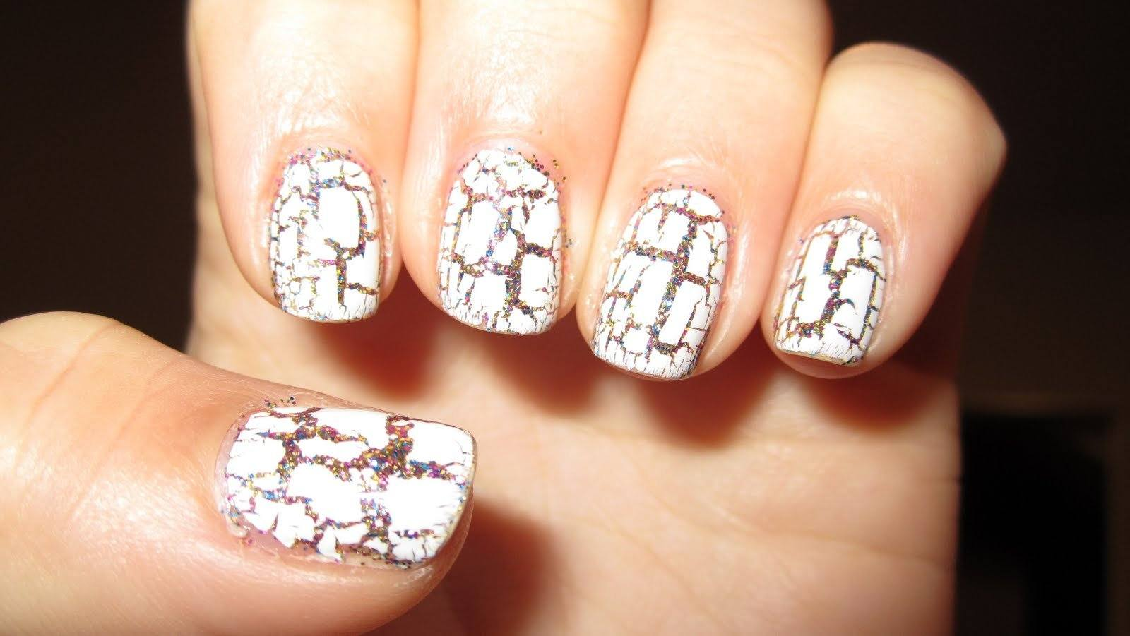 Quick Drying Crackle Nail Coating