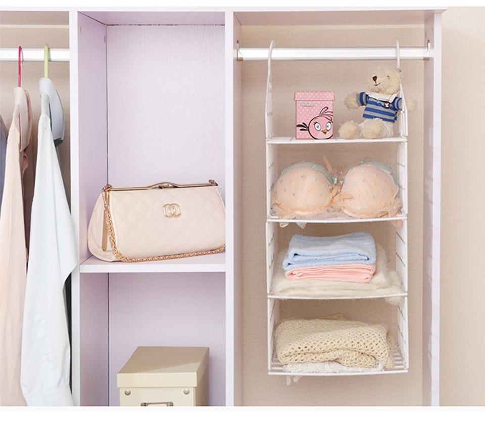Wardrobe Space Saving Organizer