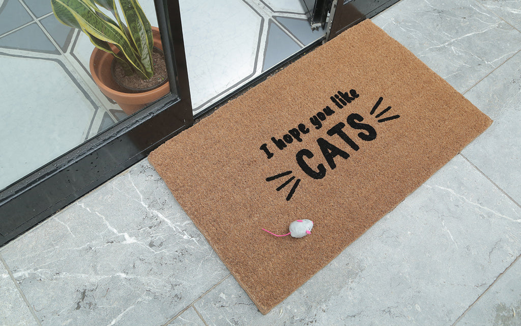 Like Cats Large Doormat