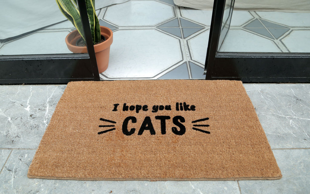 Like Cats Welcome Mat