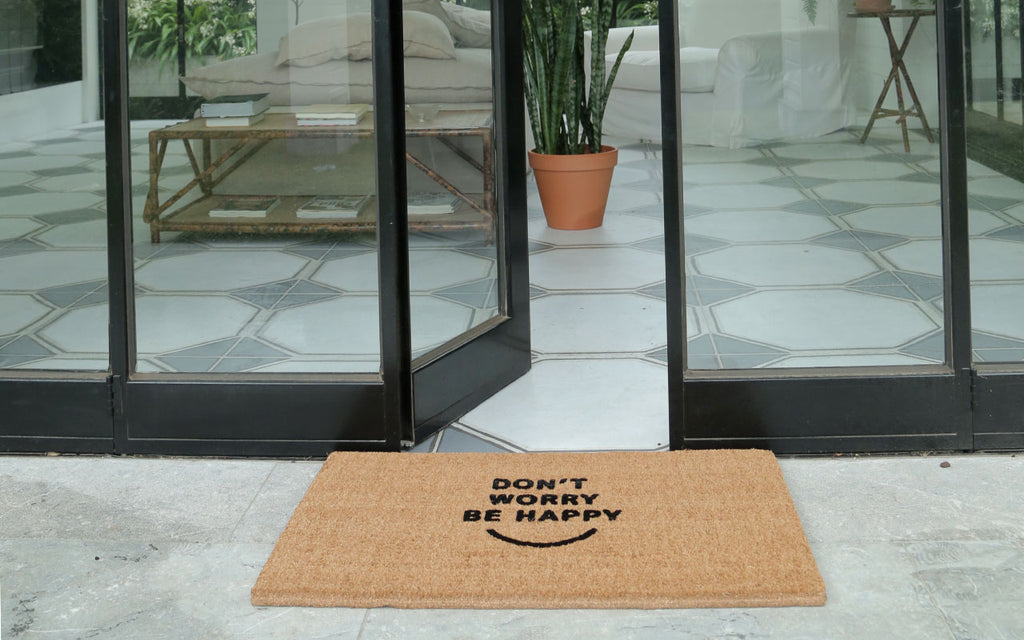 Be Happy Large Doormat