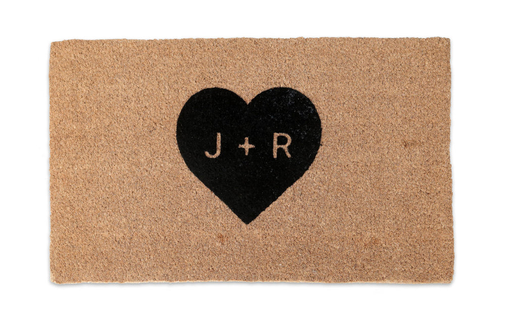 Heart Custom Doormat