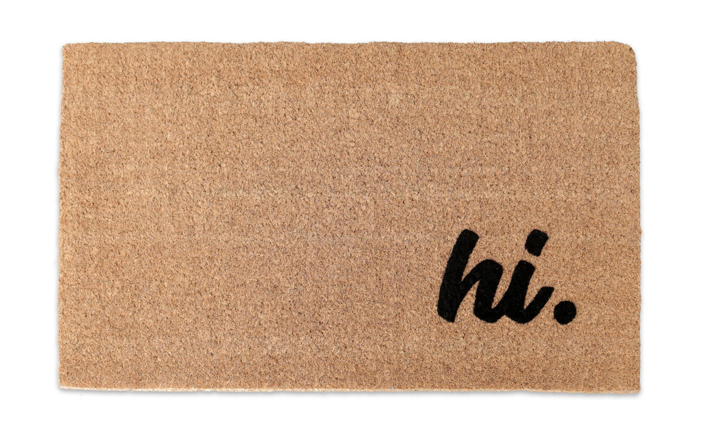Hi Welcome Mat