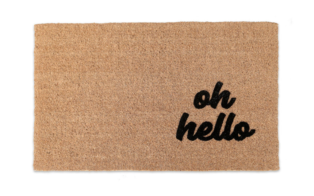 Oh Hello Welcome Mat