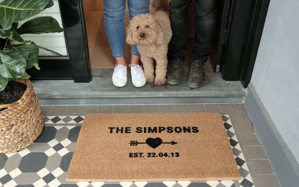 Special Occasion Personalised Doormat