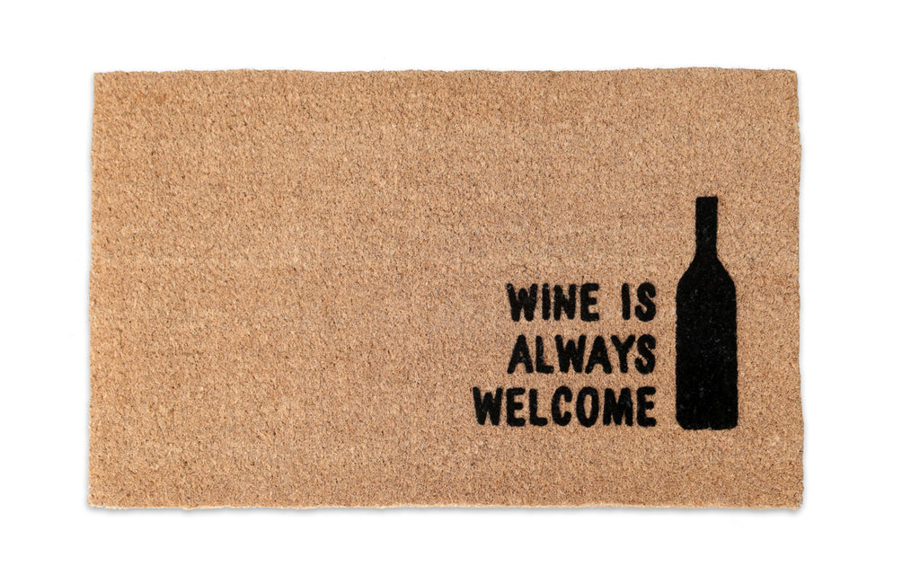 Wine is Welcome Mat