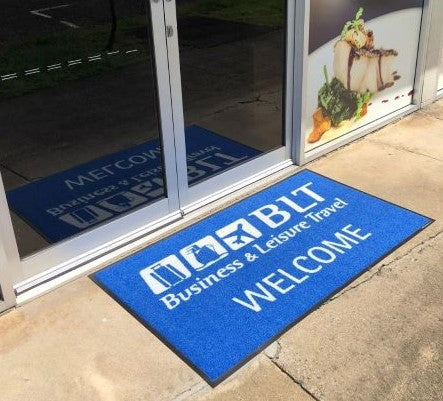 Outdoor Printed Logo Mat