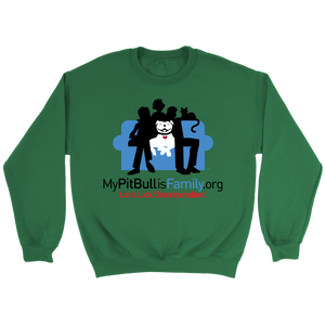 Family Couch Crewneck Sweatshirt