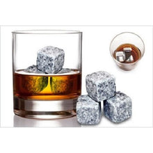 Load image into Gallery viewer, 9pcs Wine Ice Cube Accessories Wine Whisky Ice Stones Drinks Cooler Cubes Beer Whiskey Rocks Granite - Williams & Wine