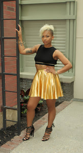 """Goldie"" Skater Skirt"