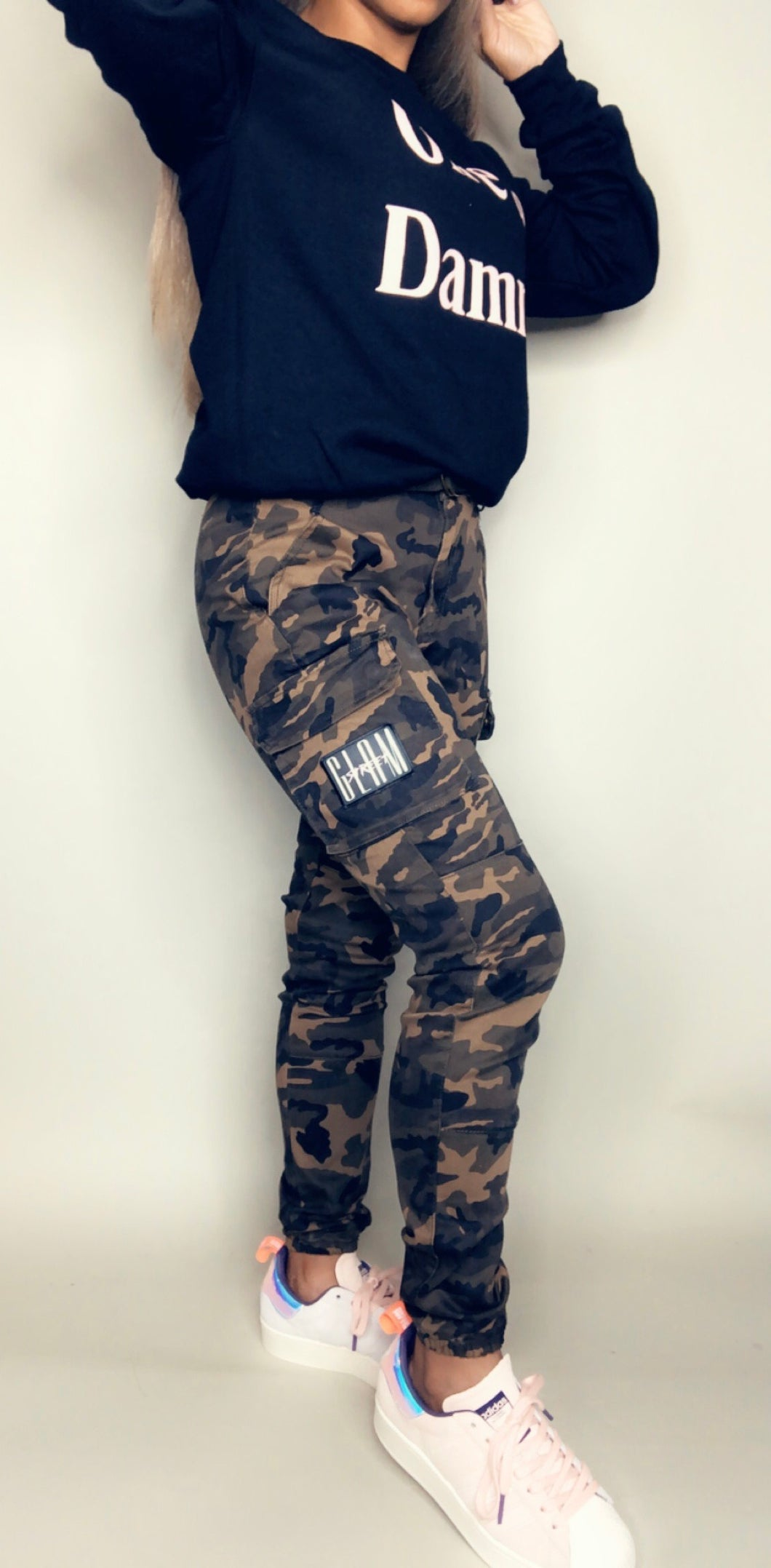 STREET GLAM CARGO JOGGERS