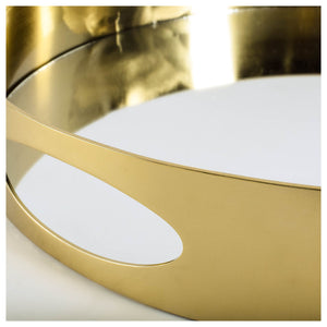 Gold & Mirror Tray