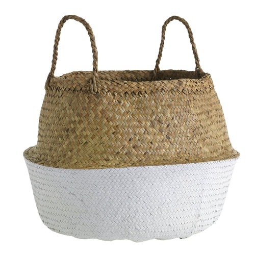 White Yaya Basket