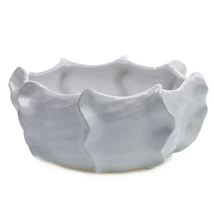 White Ripple Cache Bowl
