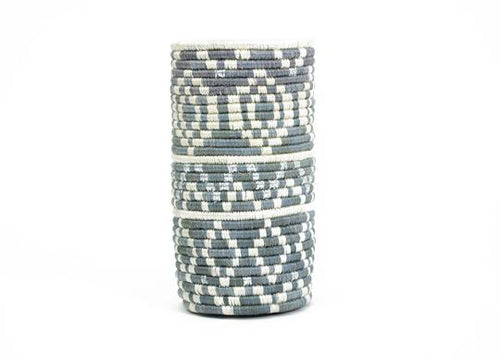 Metallic & Mirage Gray Diyama Vase