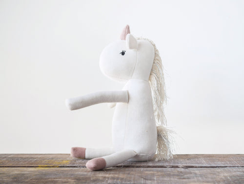 Stuffed Unicorn Lovey