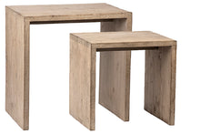 Reclaimed Side Table Set
