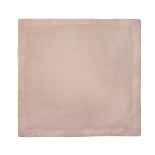 Blush Washed Linen Euro Sham