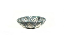 Small Metallic Mirage Gray Basket