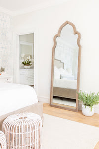 Oak Moroccan Mirror