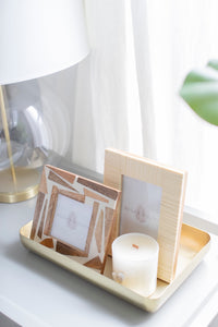Textured Resin Photo Frame