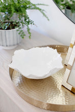 Ceramic White Wavy Bowl