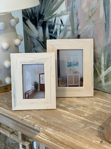 Carrara Marble Photo Frames