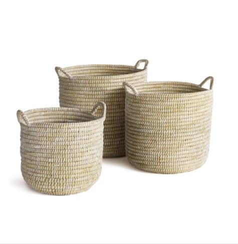 Rivergrass Storage Basket with Handles