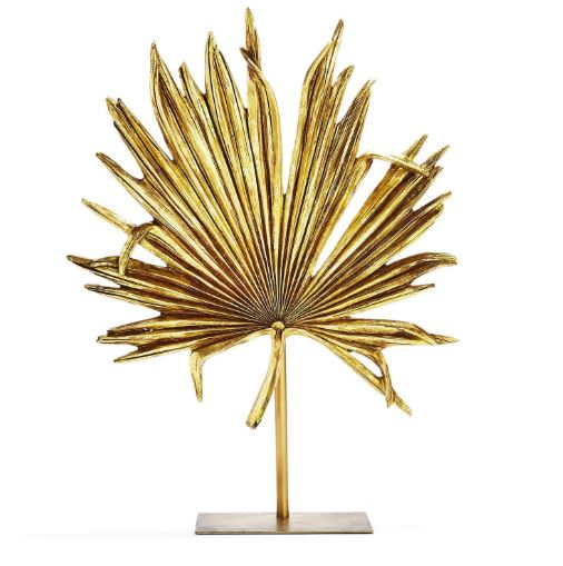 Gold Leaf on Stand