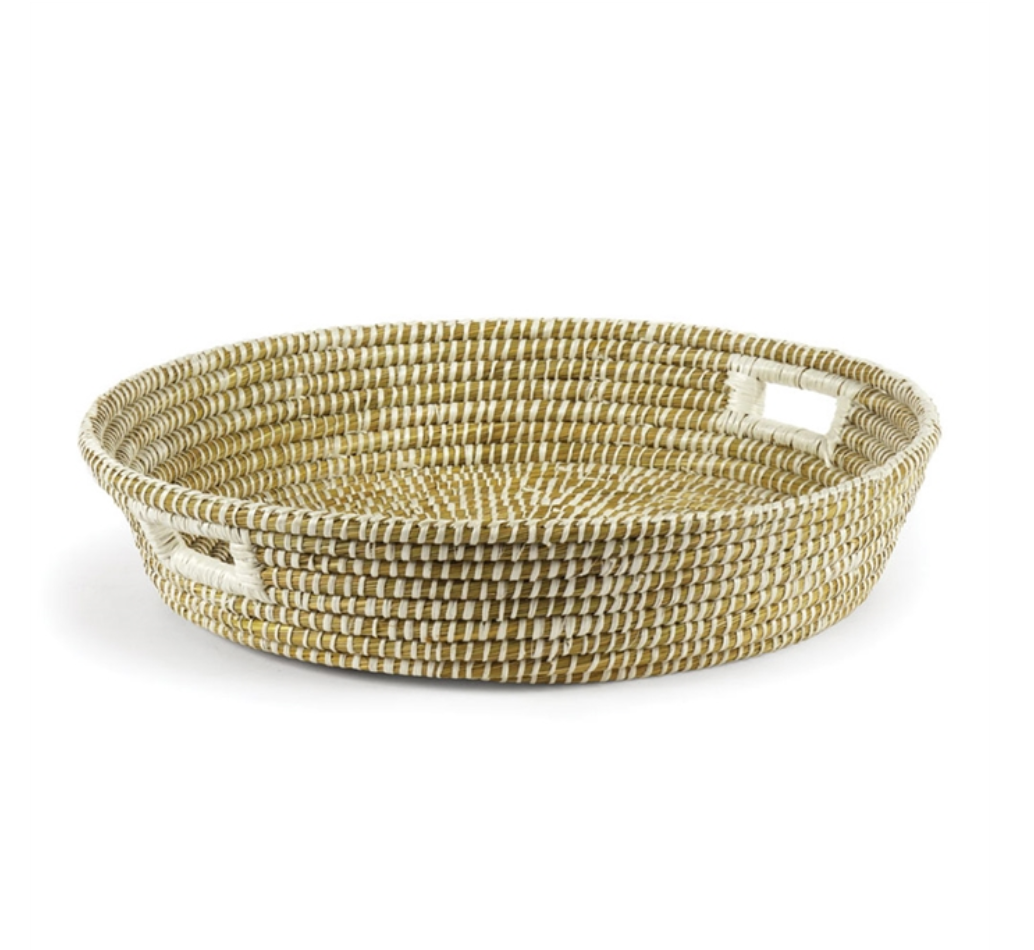 Rivergrass Bowl with Handles
