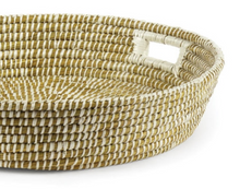 Rivergrass Tray with Handles