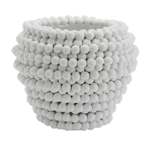 Pompom Decorative Vase/Planter