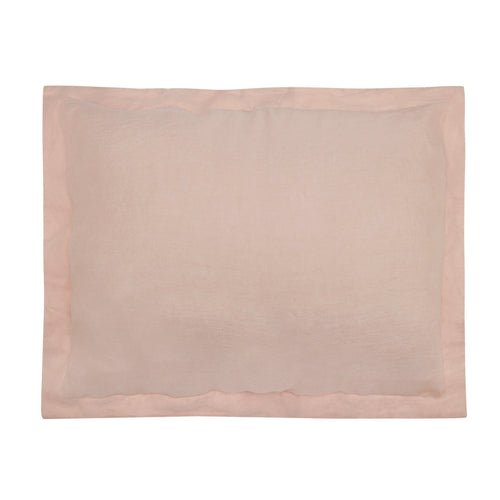 Blush Washed Linen Sham