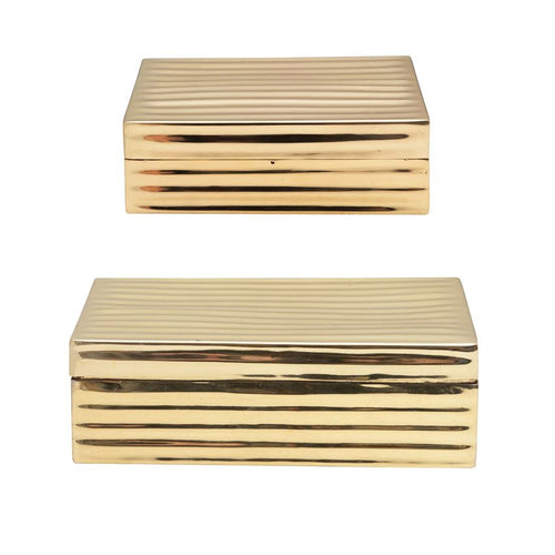 Brass Embossed Boxes