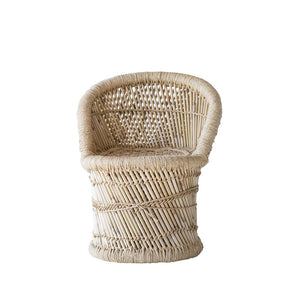 Kids Bamboo & Rope Chair