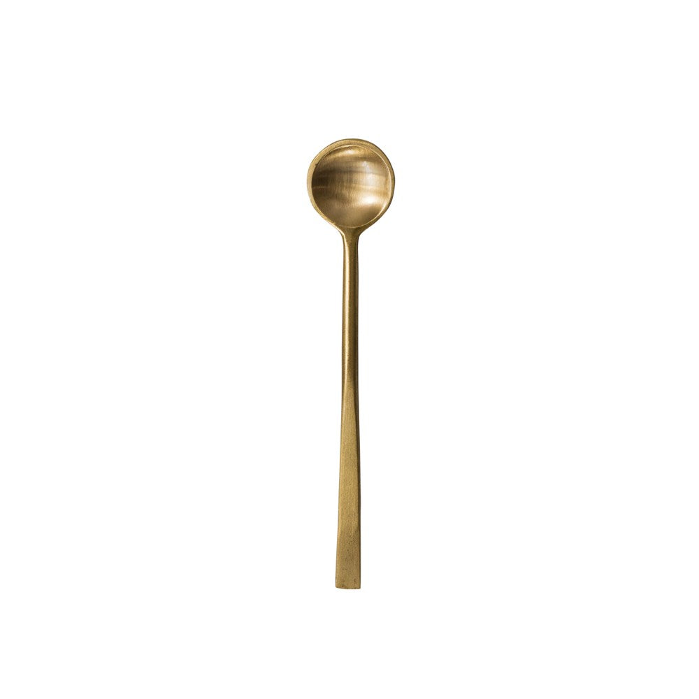 Mini Antique Brass Spoon