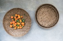 Round Woven Bamboo Baskets